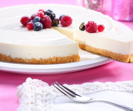 Lactose-Free Yogurt Cheesecake