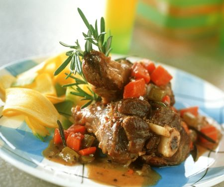 Lamb Shank Casserole