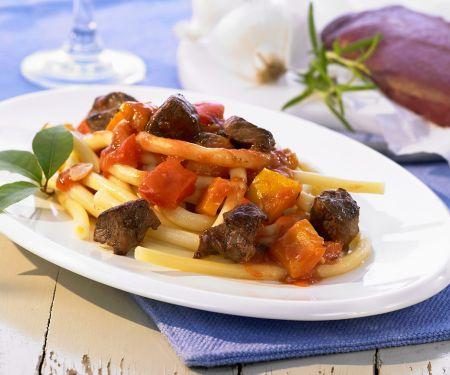 Lamb Stew with Pasta