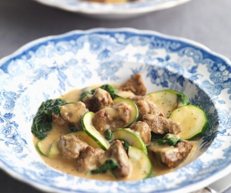 Lamb Stew with Zucchini