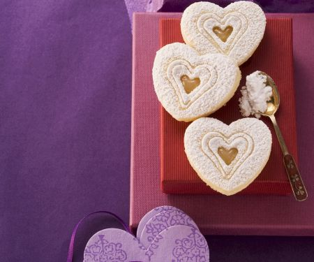 Lemon Heart Cookies