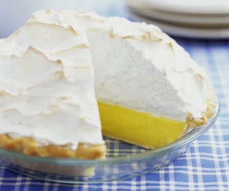 Lemon Tart with Meringue Topping
