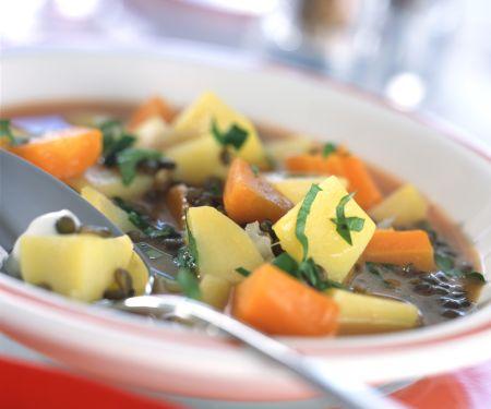 Lentil and Potato Stew