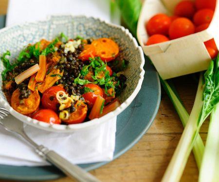 Lentil Chard Turmeric Curry