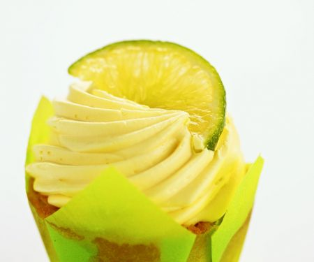 Lime Buttercream Muffins