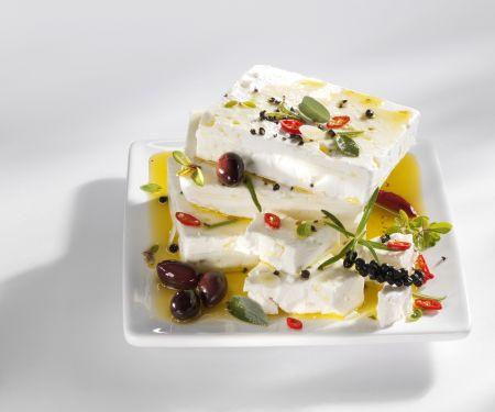 Marinated Greek Cheese