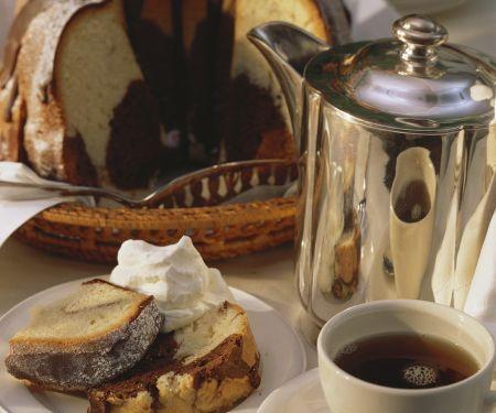 Marzipan Marble Cake