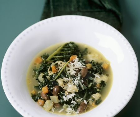 Mediterranean Bean and Veggie Broth