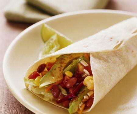 Mexican Veggie Tortillas