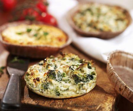 Mini Broccoli Quiches