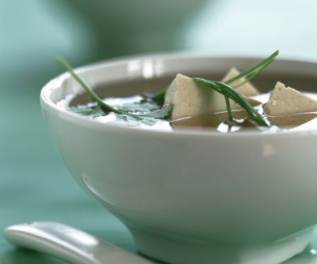 Miso Soup with Tofu