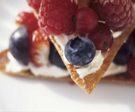 Mixed Berry and Cream Pastries