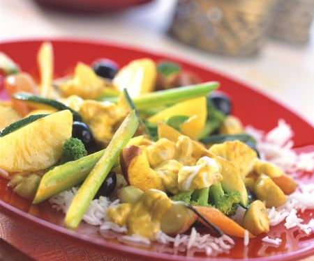 Mixed Curried Vegetables