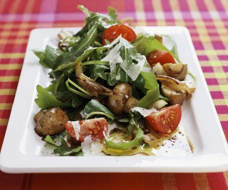 Mushroom and Arugula Salad
