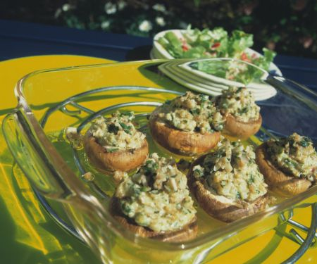 Mushrooms with Herb Stuffing