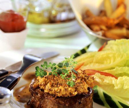 Mustard Crusted Fillet Steaks