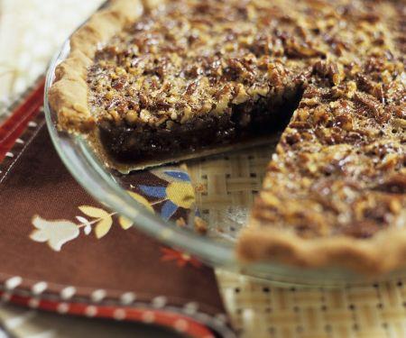 Nutty Tart with Brown Sugar