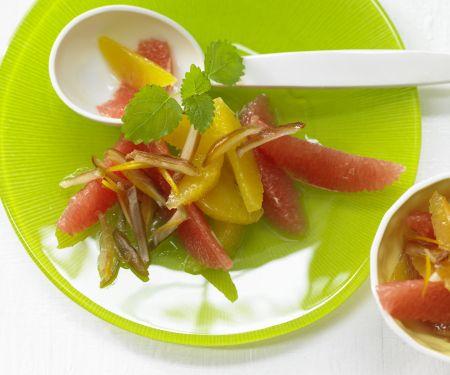 Orange and Grapefruit Salad
