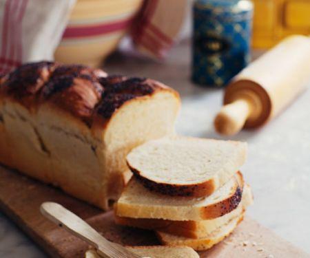 Orange Bread with Poppy Seeds
