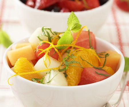 Orange Salad with Melon