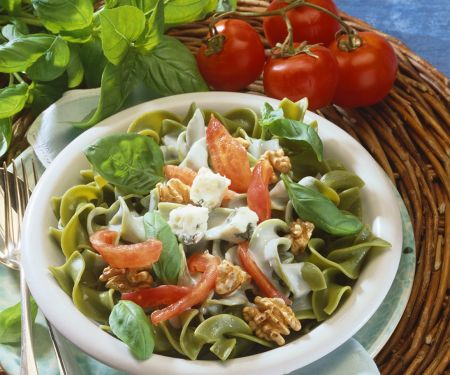 Pappardelle with Cheese Sauce