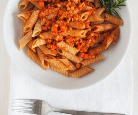 Pasta with Lentil Sauce