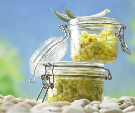 Pineapple-Cucumber Salsa