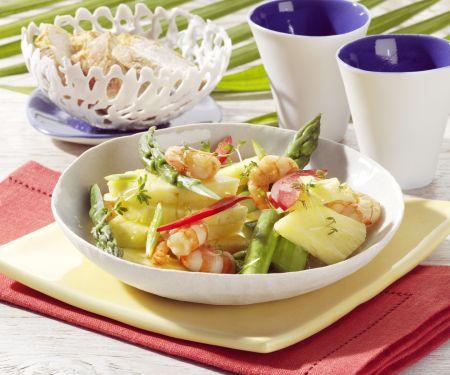 Pineapple Salad with Shrimp
