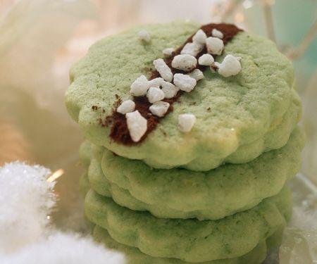 Pistachio and Vanilla Cookies