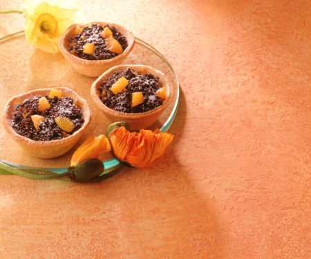 Poppy Seed Tarts with Apricots