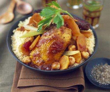 Pork and Chicken Casserole with Grains
