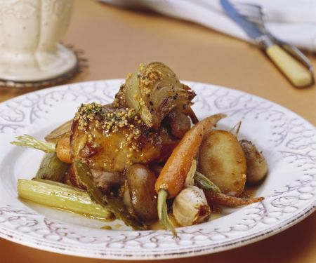 Pork Chop and Vegetable Braise