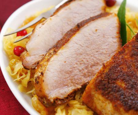 Pork Roast with Cabbage