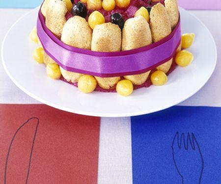 Potato and Beetroot Savoury Cake