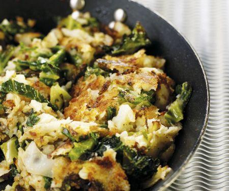 Potato and Cabbage Saute