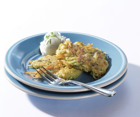 Potato and Carrot Fritters