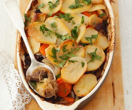 Potato Mushroom Casserole