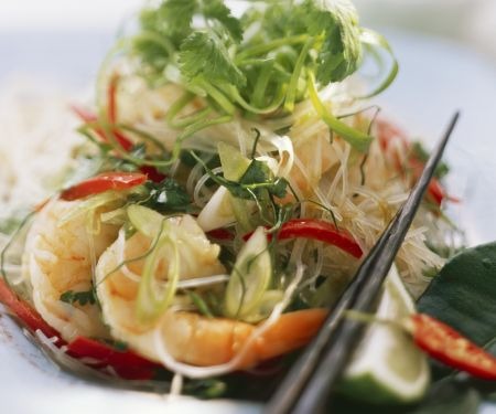 Prawn and Chile Glass Noodles