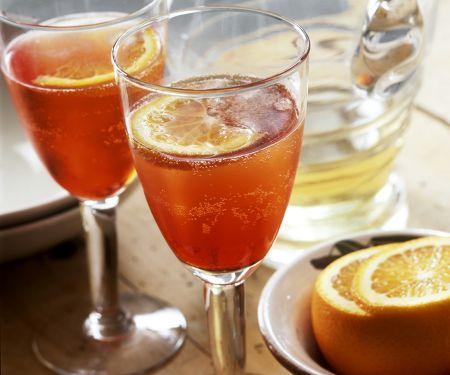 Prosecco-Campari Cocktail