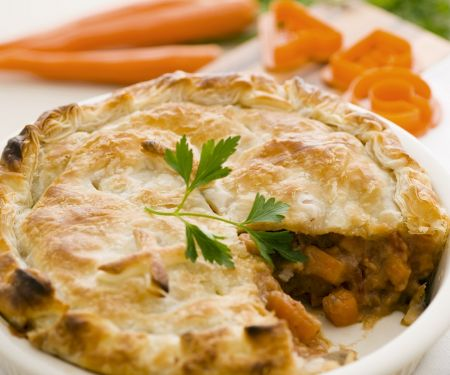 Puff Pastry Pie with Beef Filling