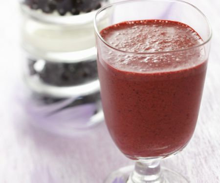Purple Berry Blended Drink