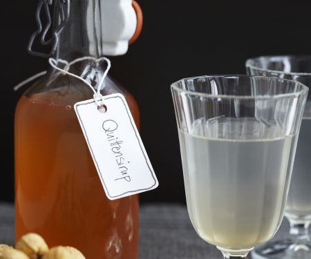 Quince and Cinnamon Syrup