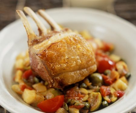 Italian-style Lamb Dinner