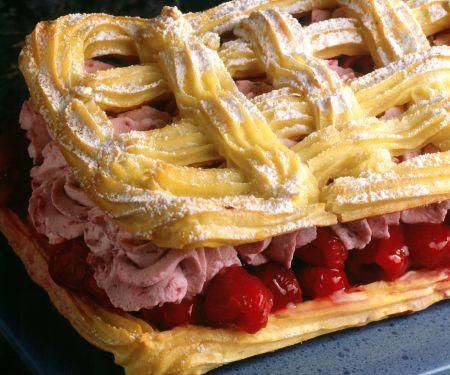 Raspberry Mousse Pastry