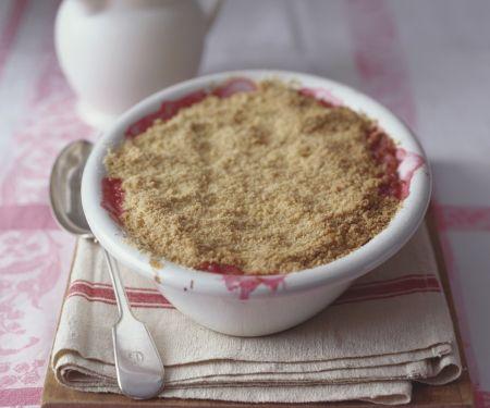 Rhubarb and Hazelnut Pudding