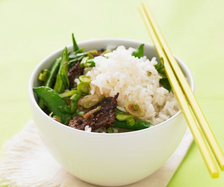 Rice Bowl with Beef