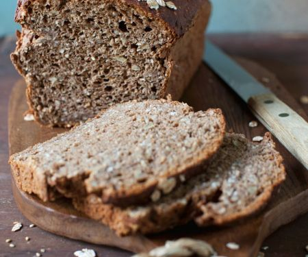 Rice, Oat and Buckwheat Bread