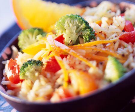 Rice Salad with Broccoli