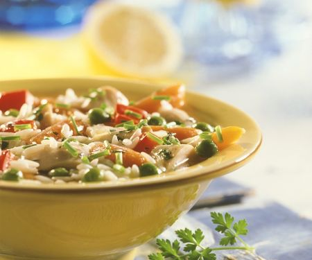 Rice Stew with Turkey and Vegetables
