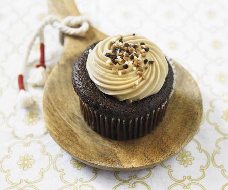 Salted Caramel Chocolate Muffins (organic)